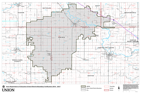 district map coverage