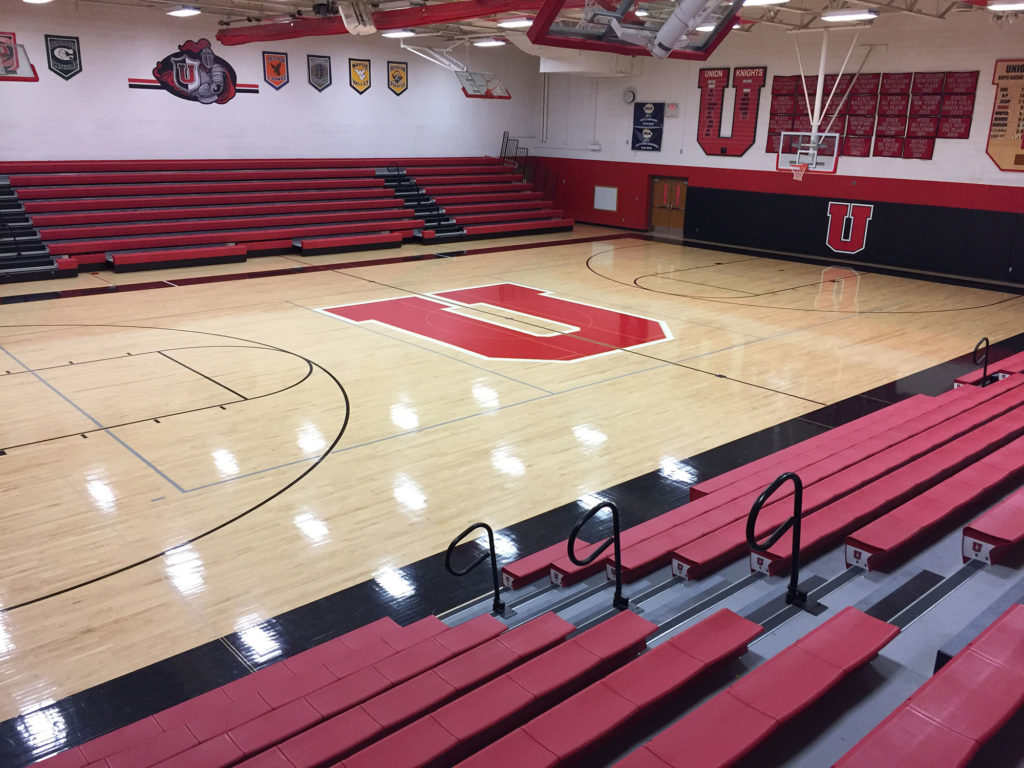 Union high school gymnasium