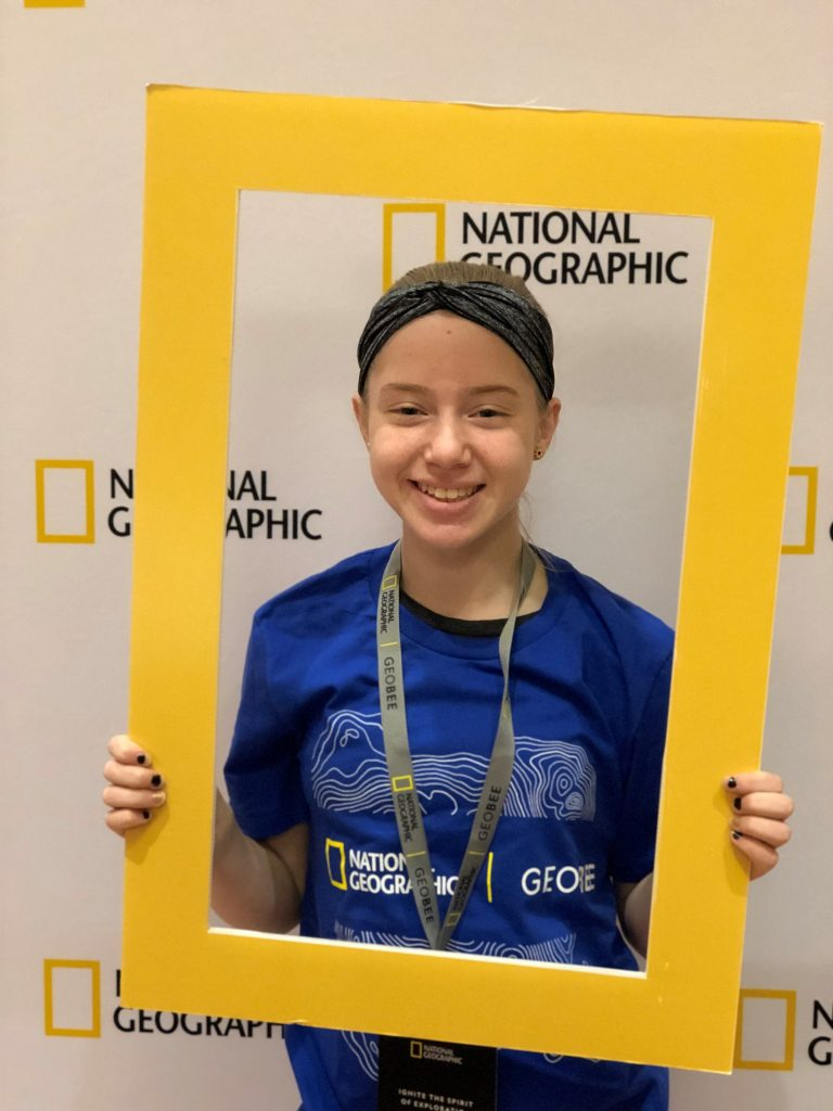 Lauren Youngblut, Spelling Bee Finalist