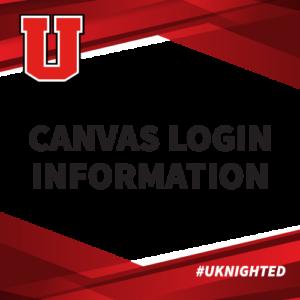 Canvas login information graphic