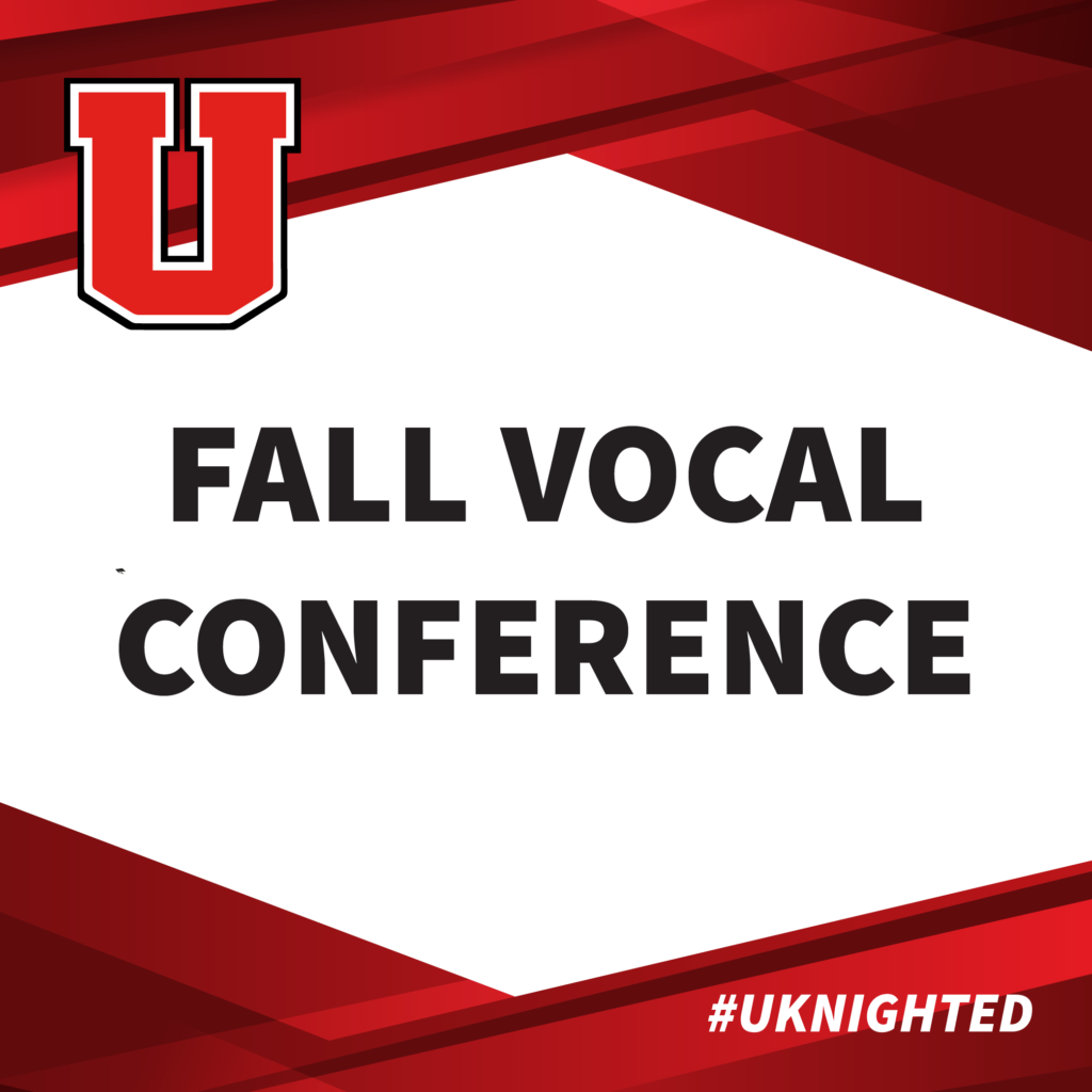Fall Vocal Conference graphic